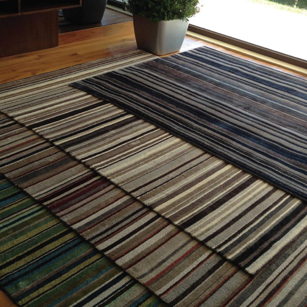 居家地毯 -  半手工毯 STEPEVI Stripe