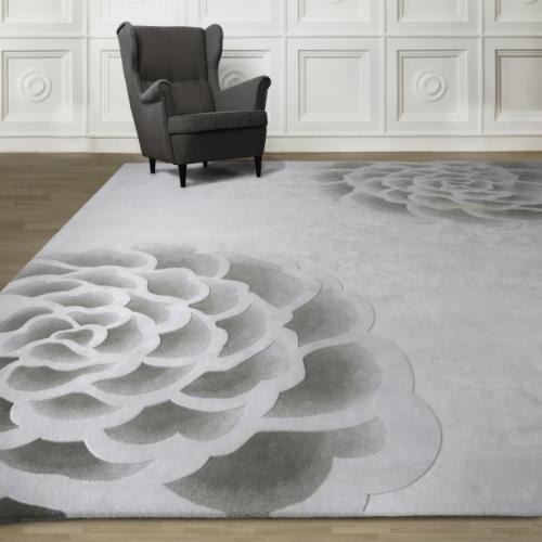 原創系列 /  Rosita - 玫瑰毯   100% 純羊毛  (共3色)