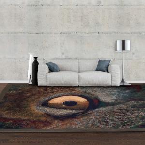 半手工羊毛毯 #009532   100% 純羊毛  6.7 x 9.7 (200 x 290 cm ) 現貨1件