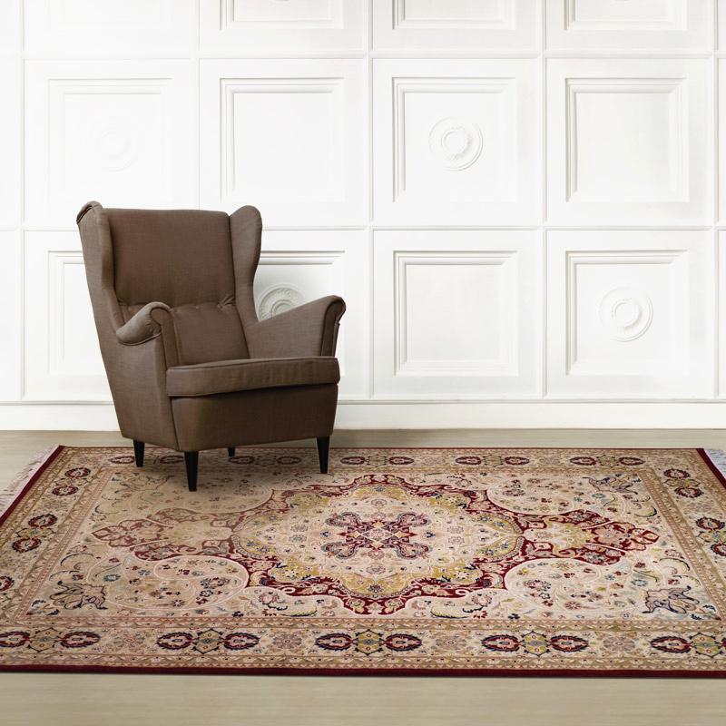 140道羊毛毯 #001416  6.2 x 9.2 (186 x 276 cm)