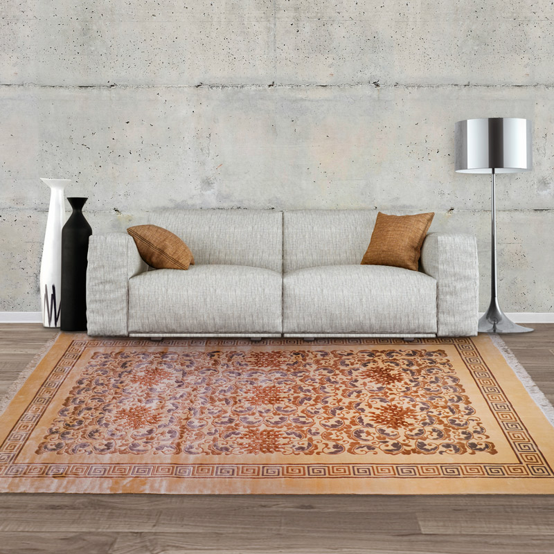 120道手工絲毯 #001756  6 x 9 (180 x 270 cm)