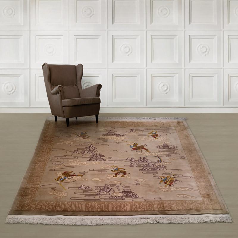 90道羊毛毯#003894  8.7 x 8.7 (261 x 261 cm 正方形)
