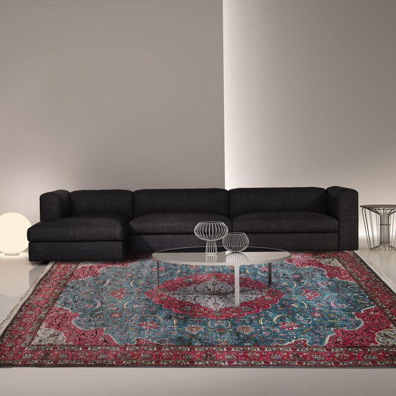 90道手工羊毛毯#001378  8 x 10 (240 x 300 cm)