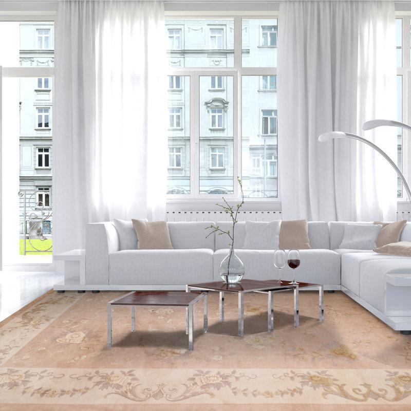 150道絲毛毯 #001323  9.84 x 13.12 (295 x 394 cm)
