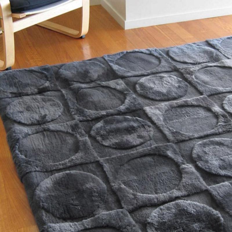 Bowron Lunar - Ink #120616   綿羊毛  毯  200 x 300  cm 現貨1件*