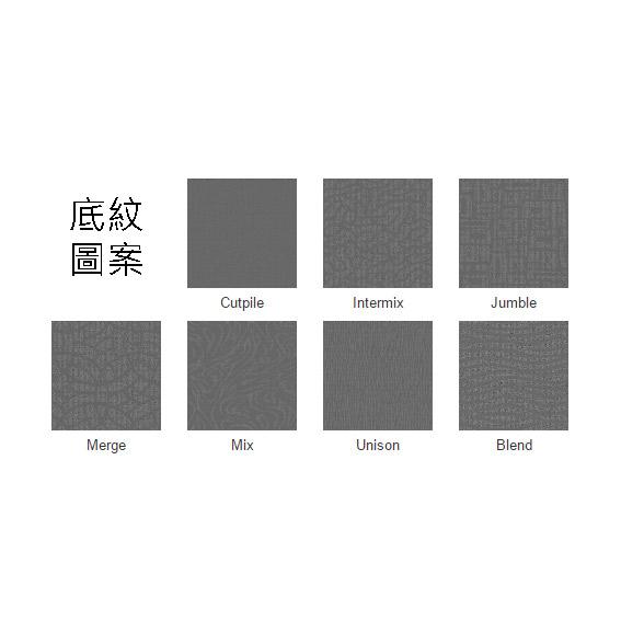 共有七種底紋圖案可以選擇