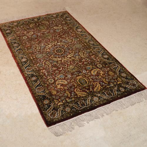 純手工絲毯 #000931  3 x 5 (90 x 150 cm)