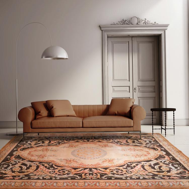 90道羊毛毯#001757  10 x 14 (300 x 420 cm)