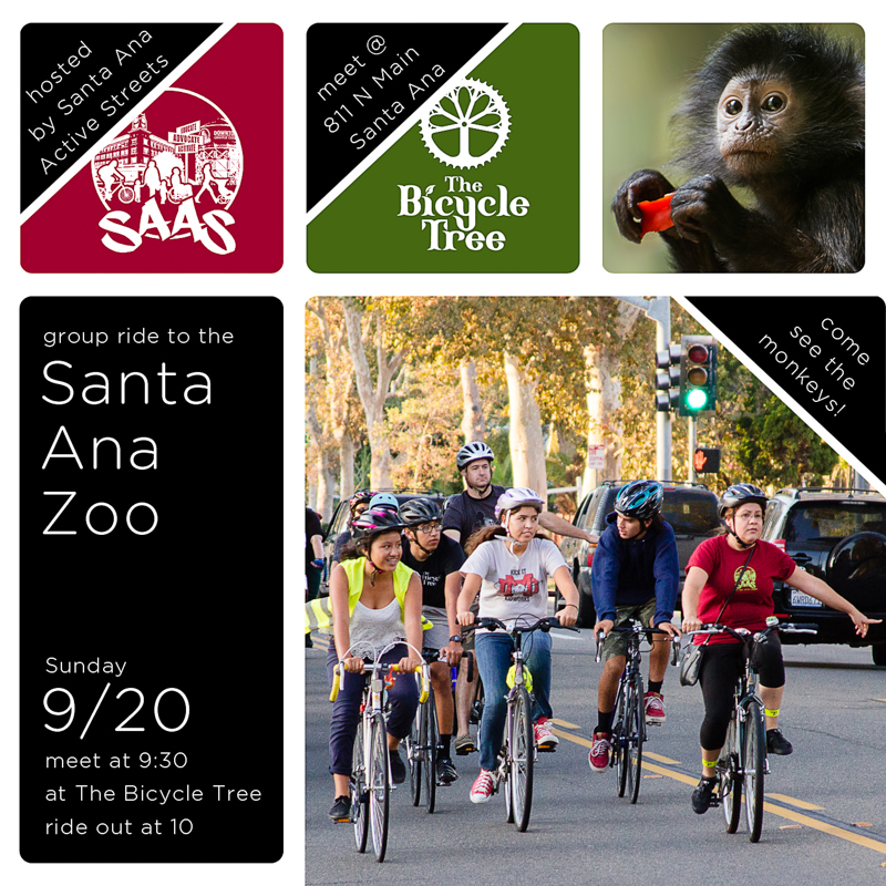 SAASy monthly rides: Santa Ana Zoo