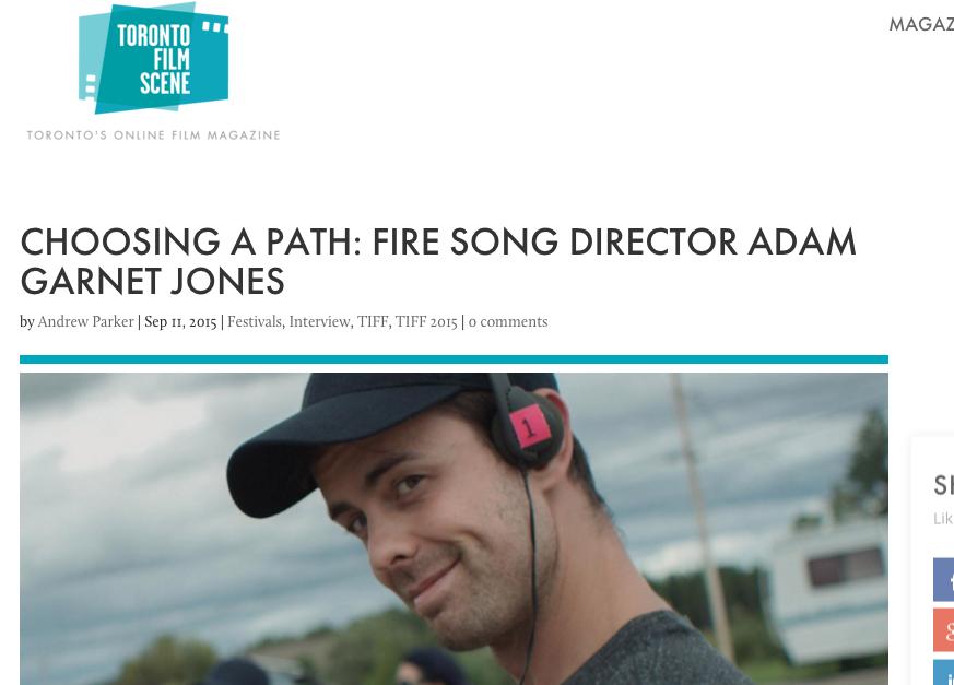 Adam Garnet Jones Fire Song