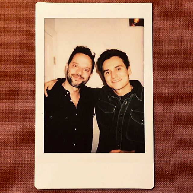 @nickkroll is back on the show tonight! Here we are in a tastefully cropped photo using the bathroom together. If you are thinking of coming get your tickets now. I'll message your friend and bully them into coming. Tickets in bio mama! . . . . @upandup  #upandup #teamcoco #conanobrien  #comedy #dynastytypewriter #losangeles #livecomedy #upandupshow #mosesstorm @dynastytypewriter #nickkroll #chrisredd #demetrimartin