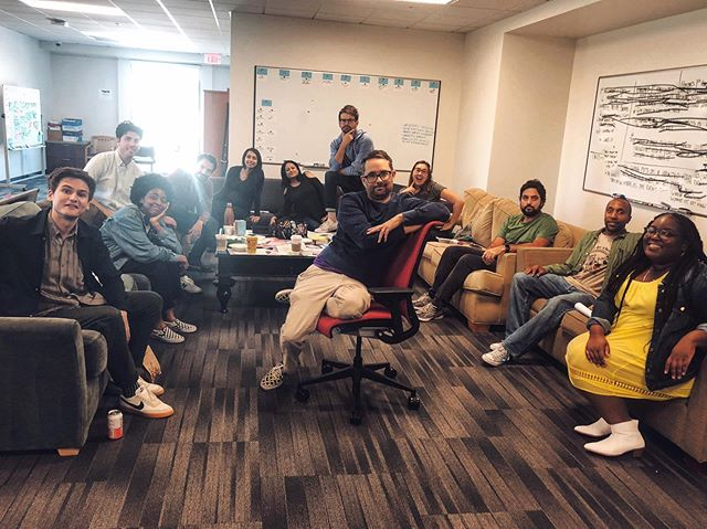 @nbcsunnyside writers room season 01. . Every pitch today was about how to kill me off the show. Honestly devastated.  @nbc #sunnysidenbc