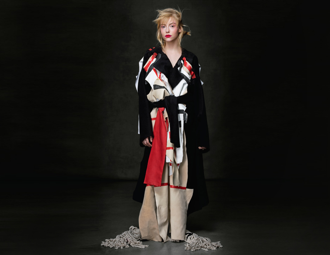 Image: Work by Katya Reily (B.F.A. Fashion Design '15)