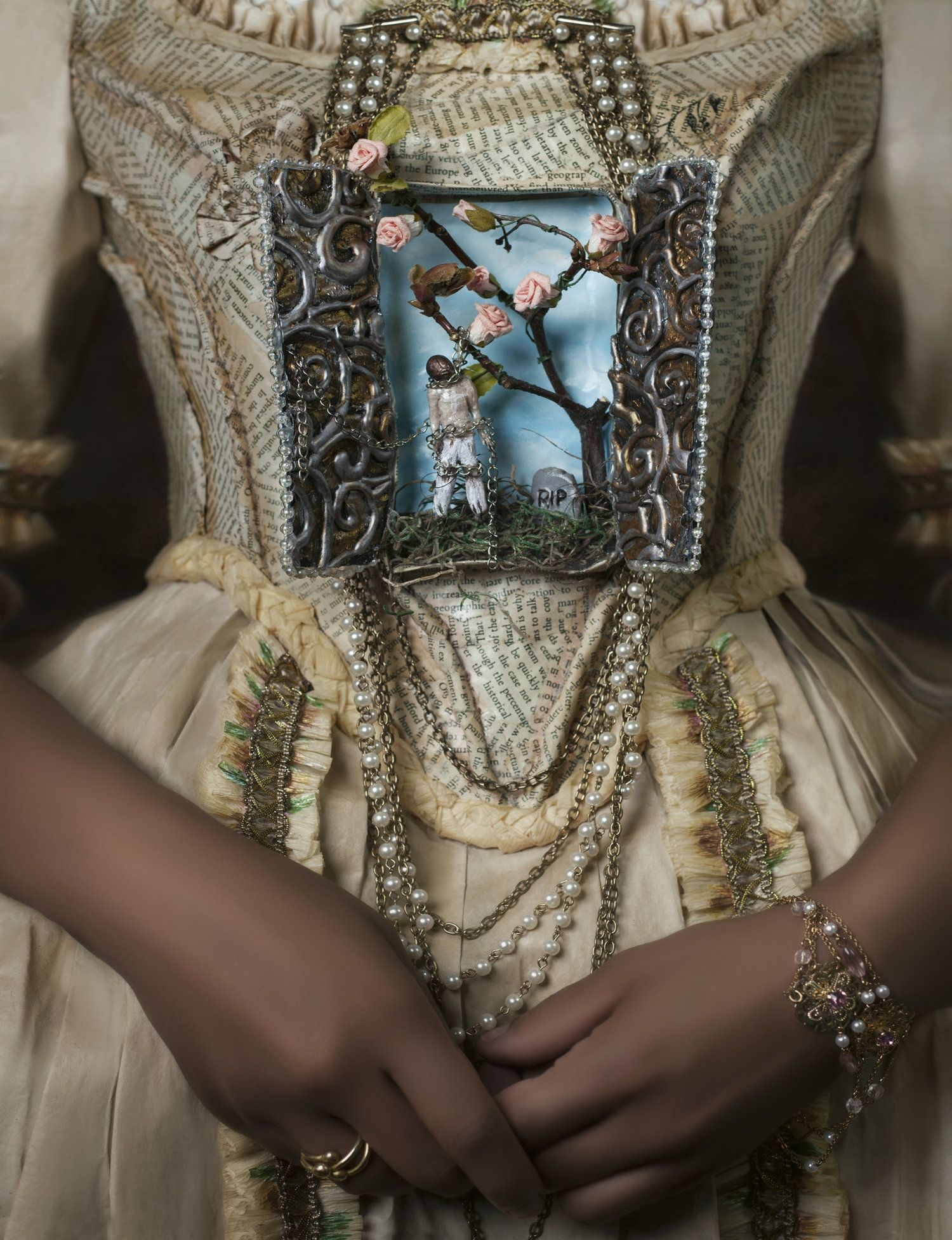 Image: 'Rest in Peace' by Fabiola Jean-Louis