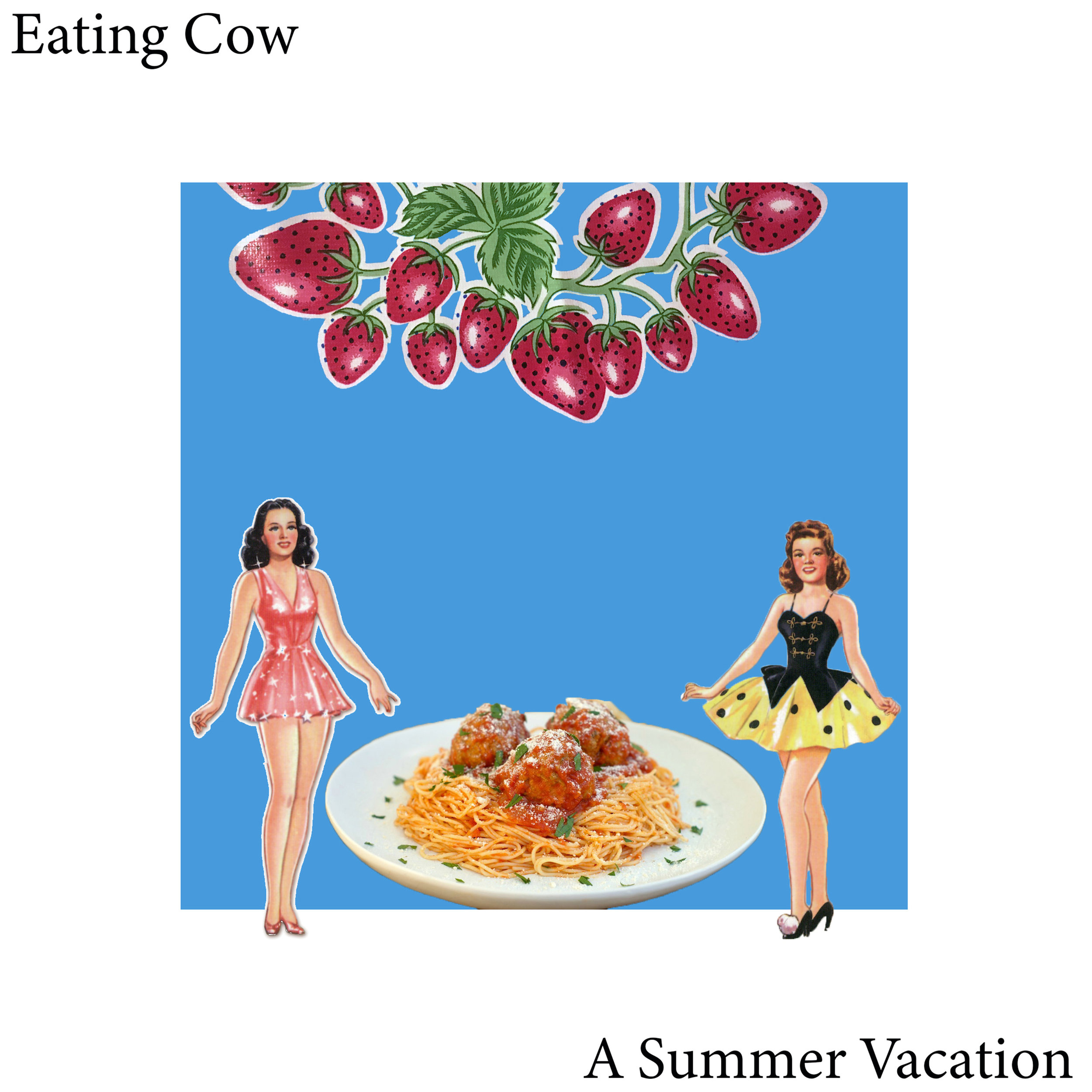 A Summer Vacation Eating Cow