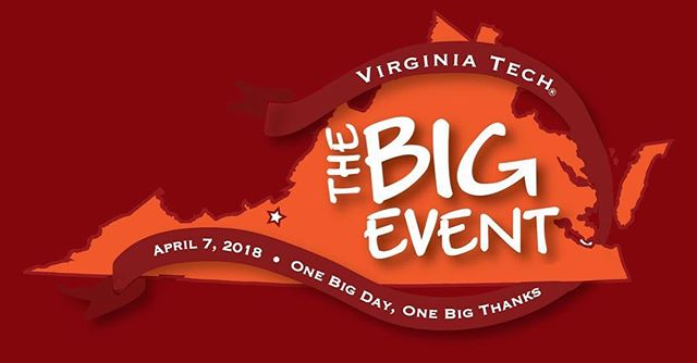 Join us on Saturday, April 7 for our local version of The Big Event at Bell Garden from 9:30am to 12pm! Registration information at vtechalumni.com. 🌱🌻🌳