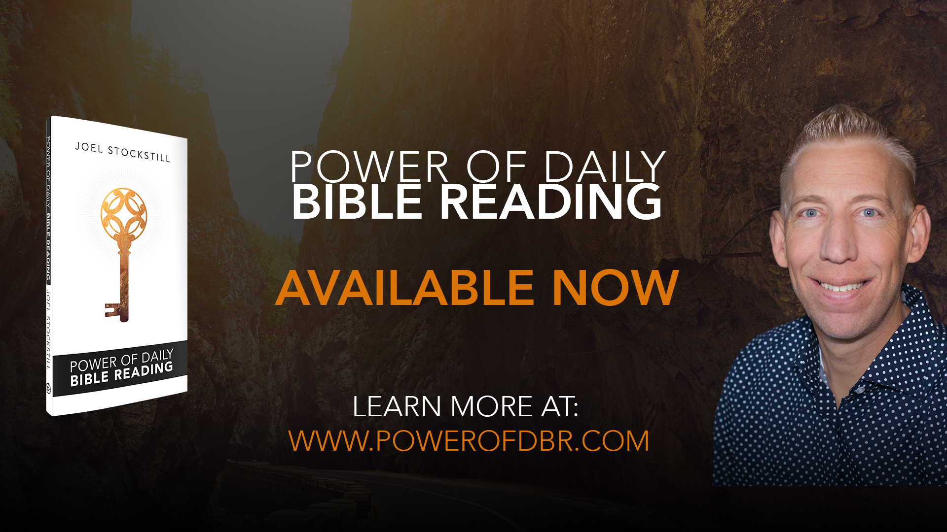 """Slide to reference Joel's newest book """"Power of Daily Bible Reading"""" (Click for fullscreen)"""