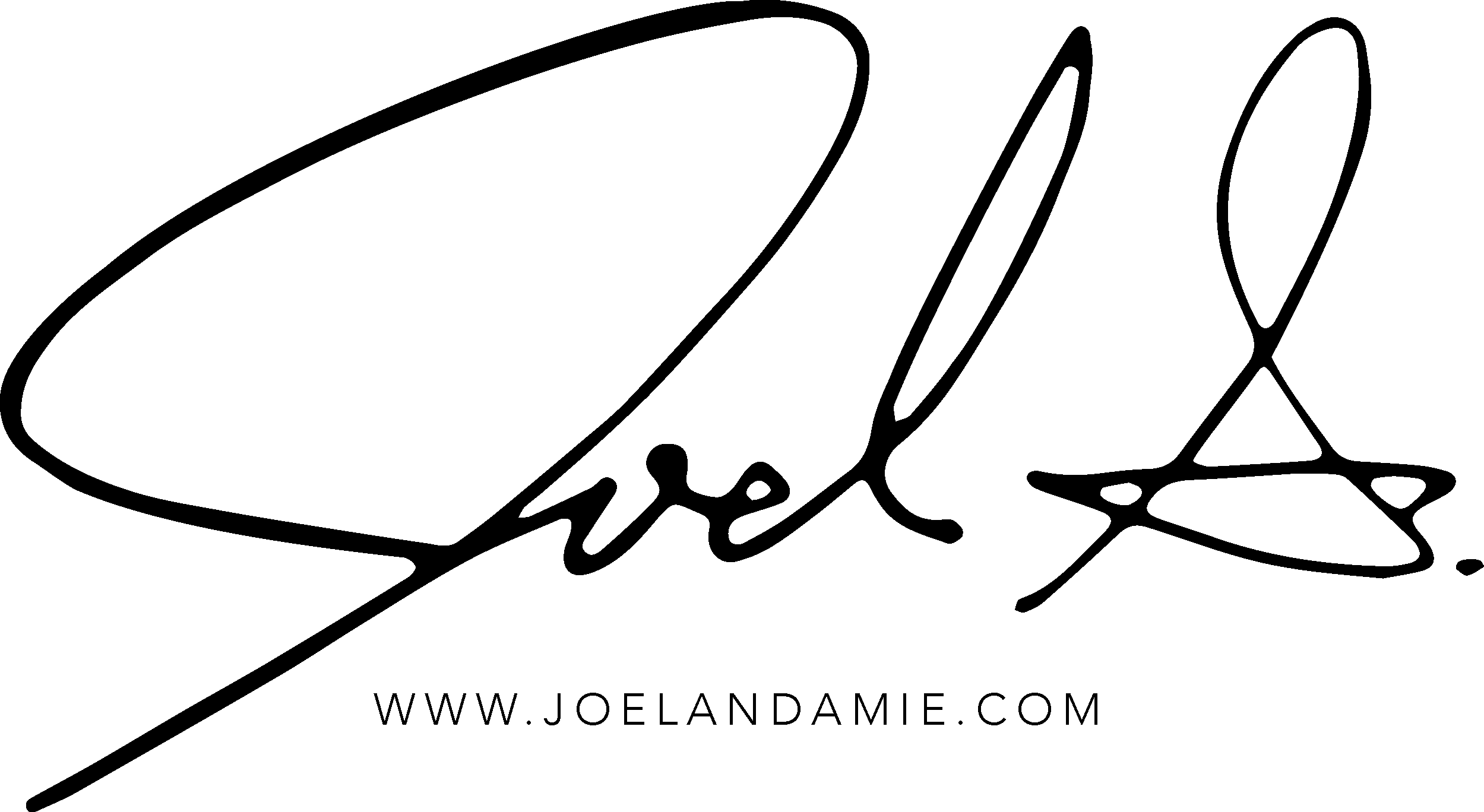 Click to download the PNG file for Joel's official logo