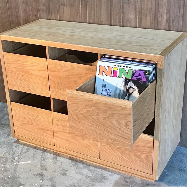 American Oak Vinyl Storage  #dunsborough #dunsboroughwoodworks #australia #furniture #vinyl #storage #record #vinylstorage #cabinetry #sideboard #buffet #design #home #interiordesign #homedecor #bespoke #custom #cabinetry #interior #westernaustralia #perth #americanoak #busselton #southwest #yallingup