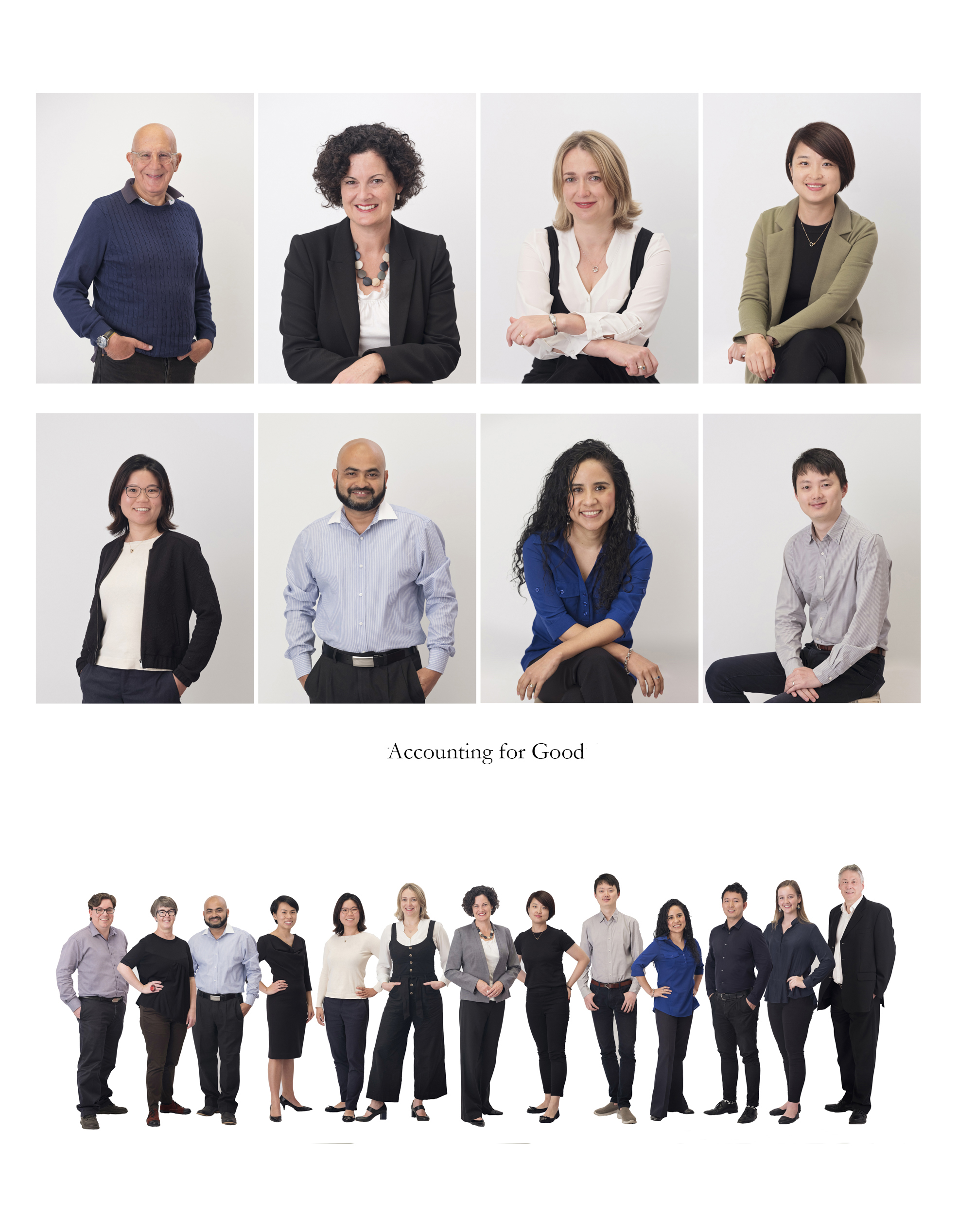 """Sydney based accounting firm """"Accounting for Good"""" needing headshot and team photos. To look friendly and approachable was the request."""