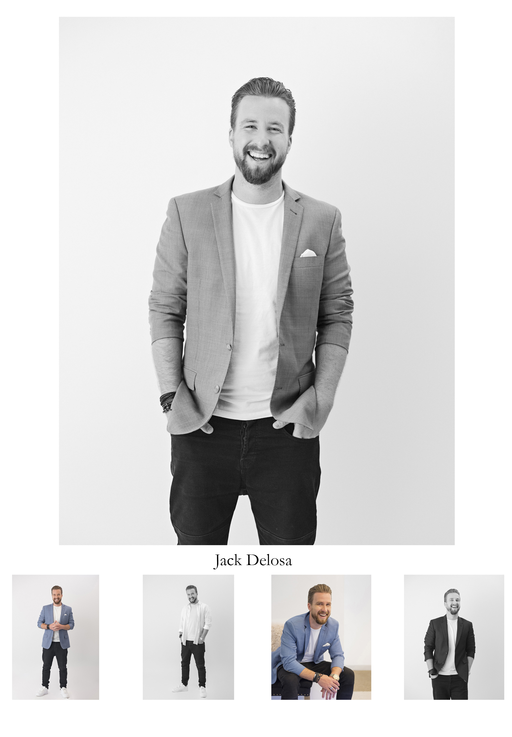 """Jack Delosa, entrepreneur, bestselling author and TV host. Founder and CEO """"The Entourage"""" which is an educational institution for entrepreneurs based in Sydney"""