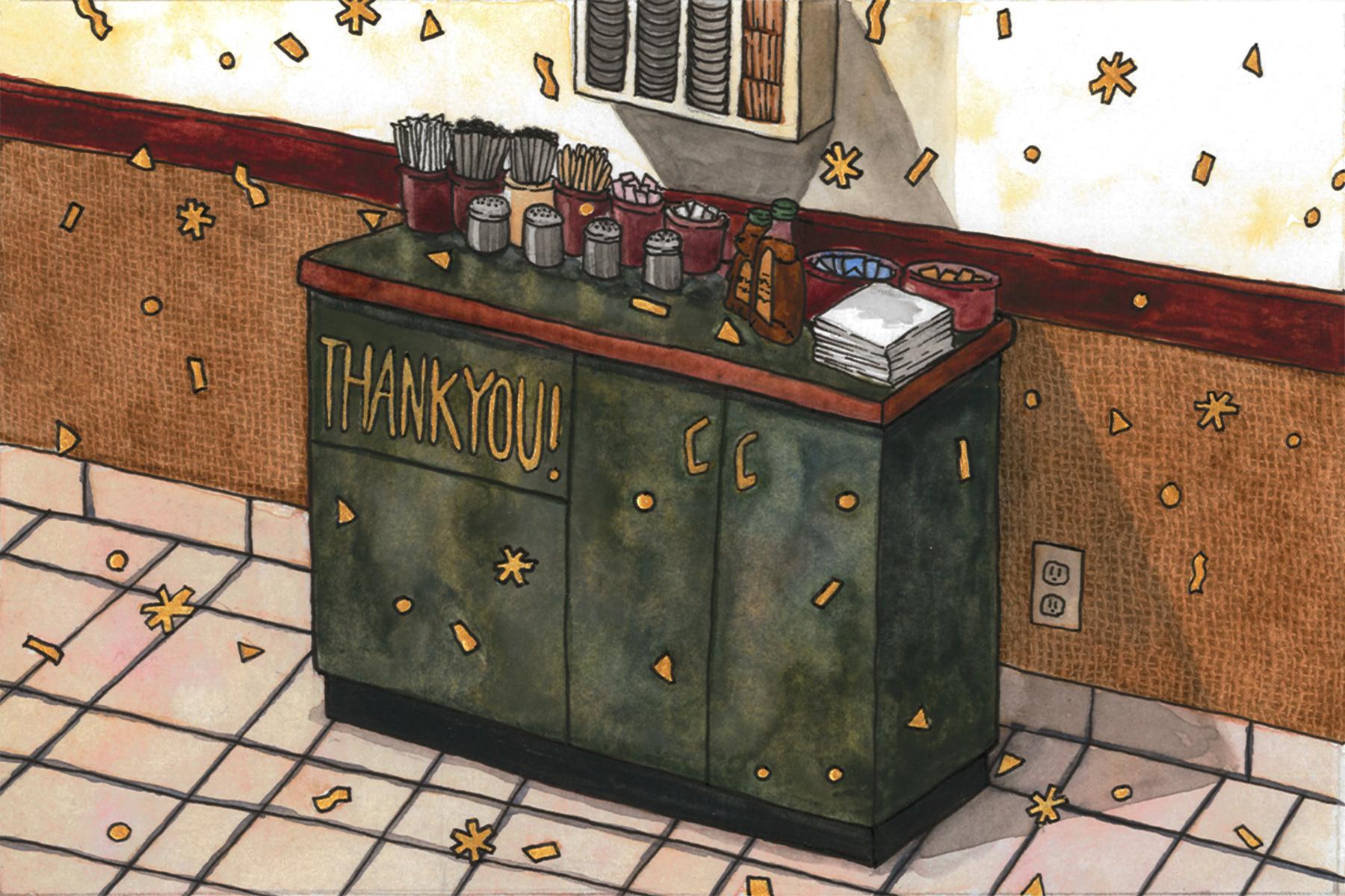Seattle Espresso 25th Anniversary Postcard