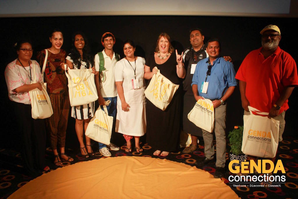 Genda Connections Suva Curator with Speakers