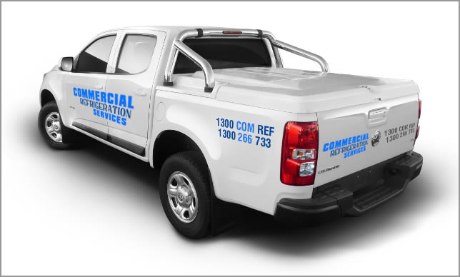 Commerial Refrigeration Services Support Vehicle