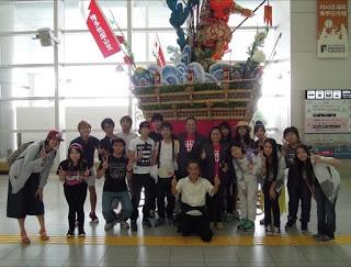 GT Students arrive at Fukuoka airport