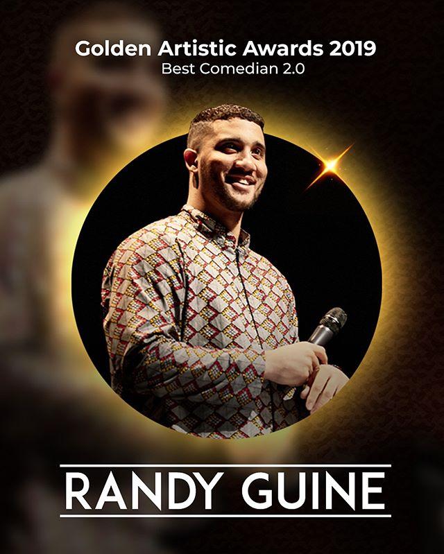 Extrêmement fier d'avoir reçu le Golden Artistic Award du meilleur comédien 2.0, est-ce que j'aurai pu recevoir ça sans vous ? Merci à vous tous pour vos likes, commentaires et messages. Je suis infiniment reconnaissant du soutien que vous m'apportez ! Merci aussi à mes amis qui m'aident à faire ces vidéos !  Ce n'est que le début 🙏🏽 🏆 @goldenartisticawards 🎨 @baaronkun  #moufff #award #heureux #moretocome #rendremamanfiere #toituasçatoi