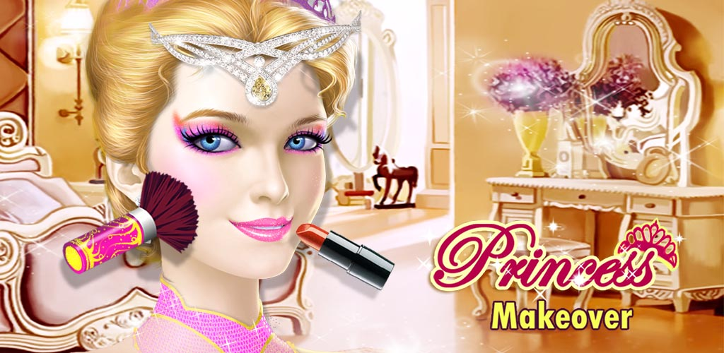 Beauty Princess Makeover Salon  Are you a royal princess? This luxury Princess Beauty Salon is just for you!