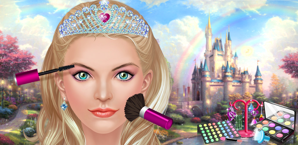 Pink Princess - Fashion Dress Up  Every pretty pink princess in the world wants to look as beautiful as she can. Since they don't have time to do their own makeup or choose their own dress, they're counting on you to do it for them!