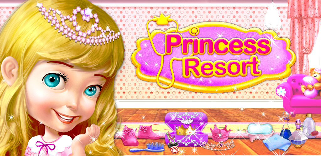 Princess Fashion Resort!  Beautiful princess high in your castle, don't you think it's time for a fancy new dress? Princess Fashion Resort lets you dress-up a princess in your very own salon! Give her a new hairstyle and better makeup and turn her into a lovely fairy princess, one who's guaranteed to win a prince's heart!