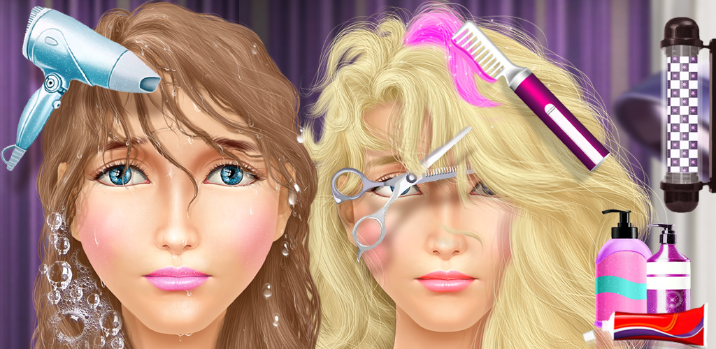 Princess Makeover - Hair Salon  Design the best hair cut and fashion styles in the world! These princess kids need your help dressing up for the season. Design a new fashion for them to wear, give their hair a tidy cut, and clean them up for the whole world to see.