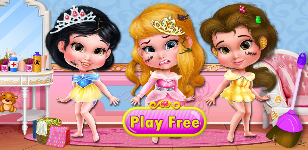 Princess Makeover - Girls Games  So messy, little princess. How did you let yourself get that sloppy?! Work your fashion style magic in your very own beauty salon with Princess Makeover, a makeup and dress up game made just for girls!