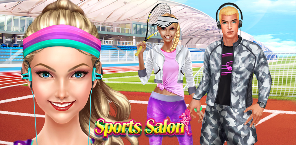 Sports Girl SPA: Beauty Salon  Girls love to play soccer, volleyball, and other fun sports at school. They catch, kick, and throw balls just as good as boys, maybe even better, but that doesn't mean they can't look good while doing it!