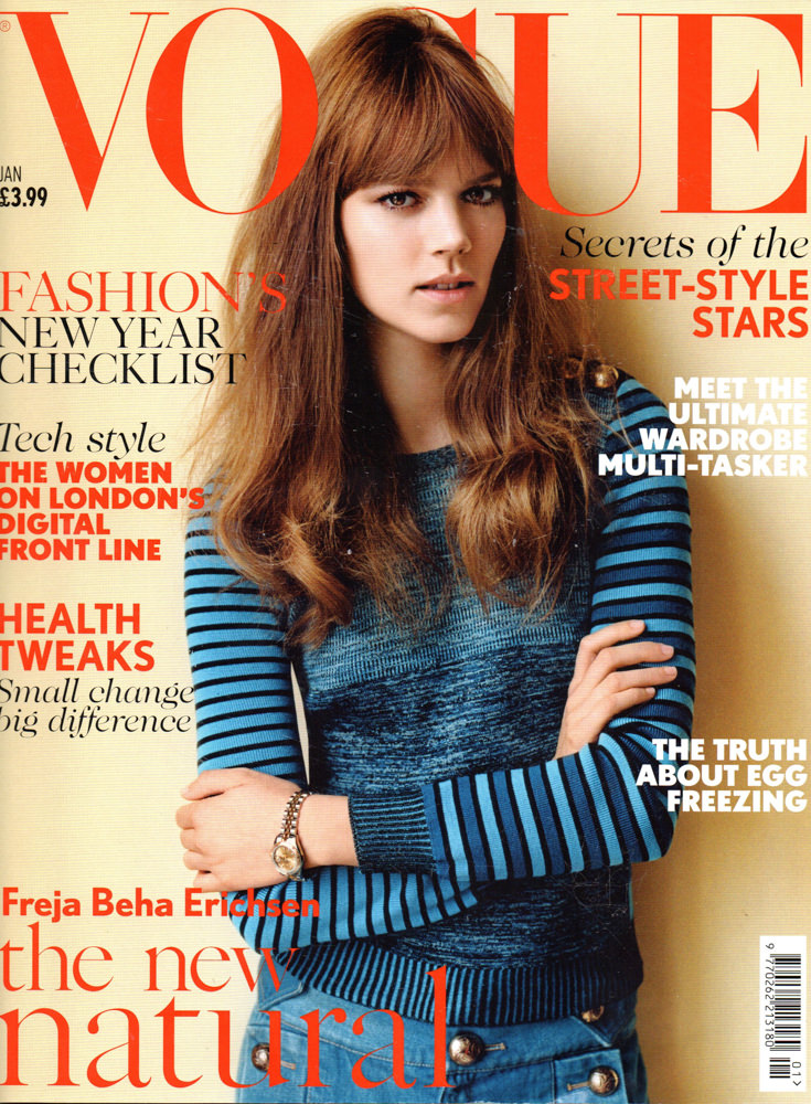 Vogue featuring Hill & Ellis bike bags
