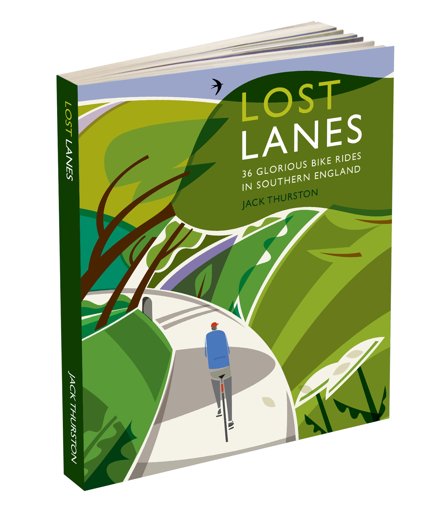 Lost Lanes Bike Rides Book