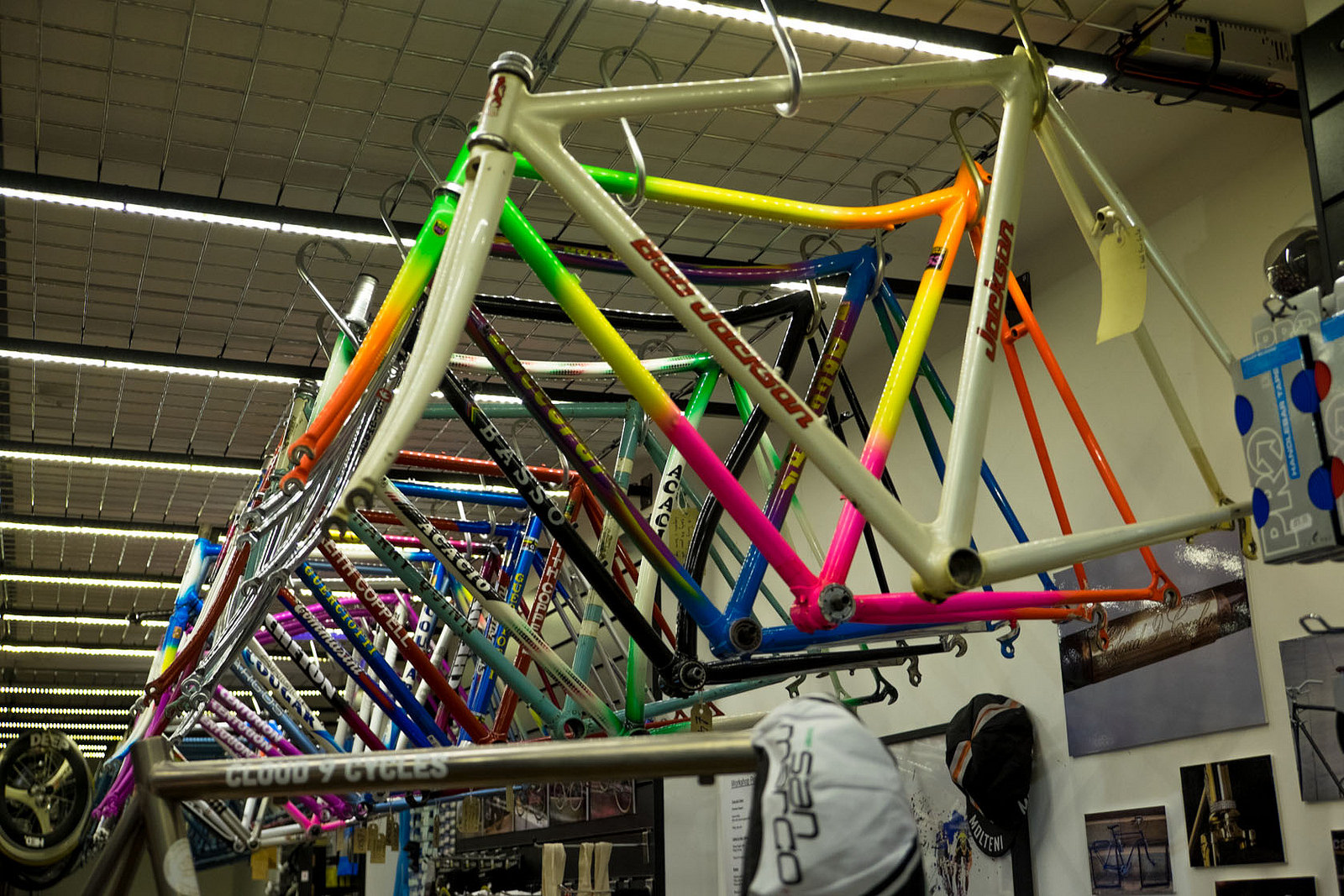 Bike Frames at Cloud 9 Cycles