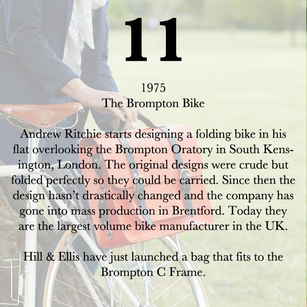 Brompton Bike history