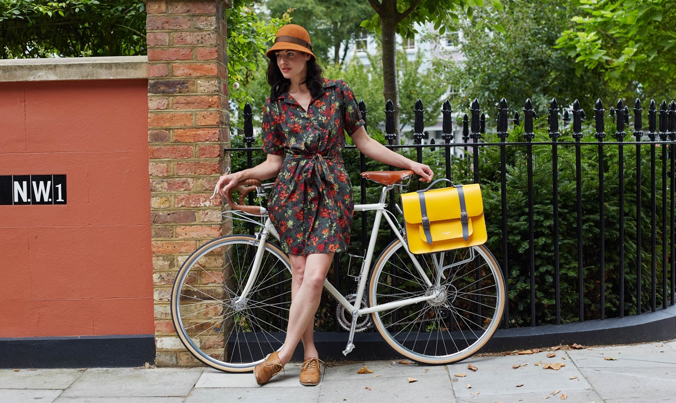 Bradley bike bag on bike