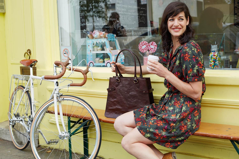 Dorothy Bike Bag bakery