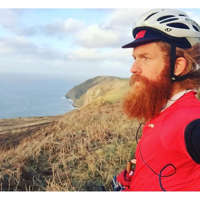 One of Sean's images from Instagram as he cycles through Devon.