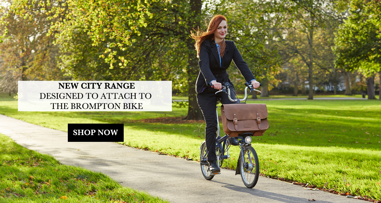 Bike bag for Brompton bike