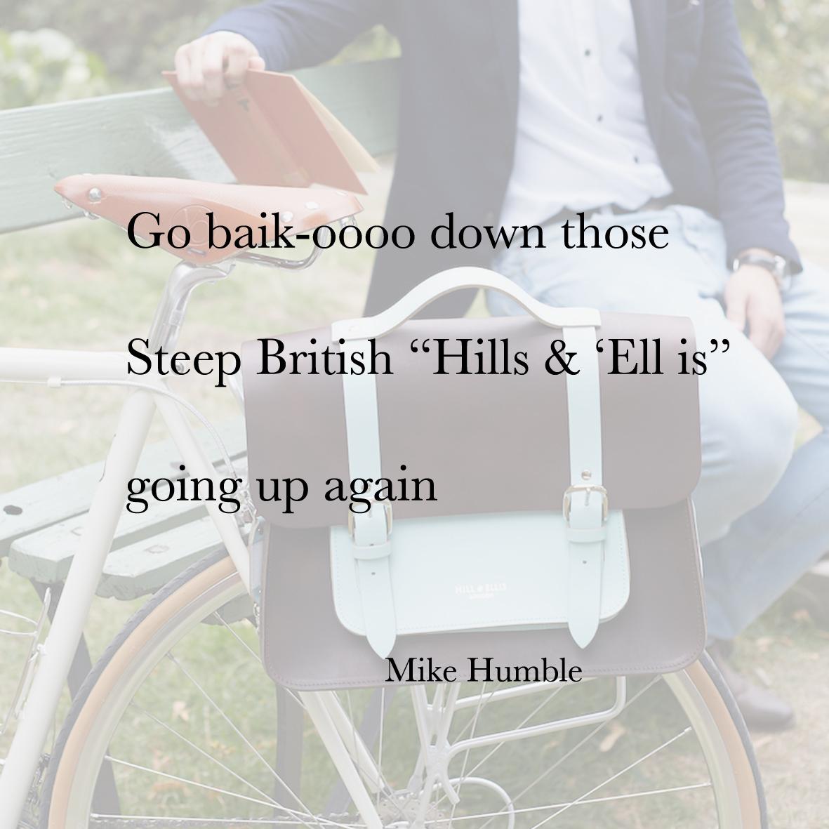 Baiku Mike Humble bike bag competition