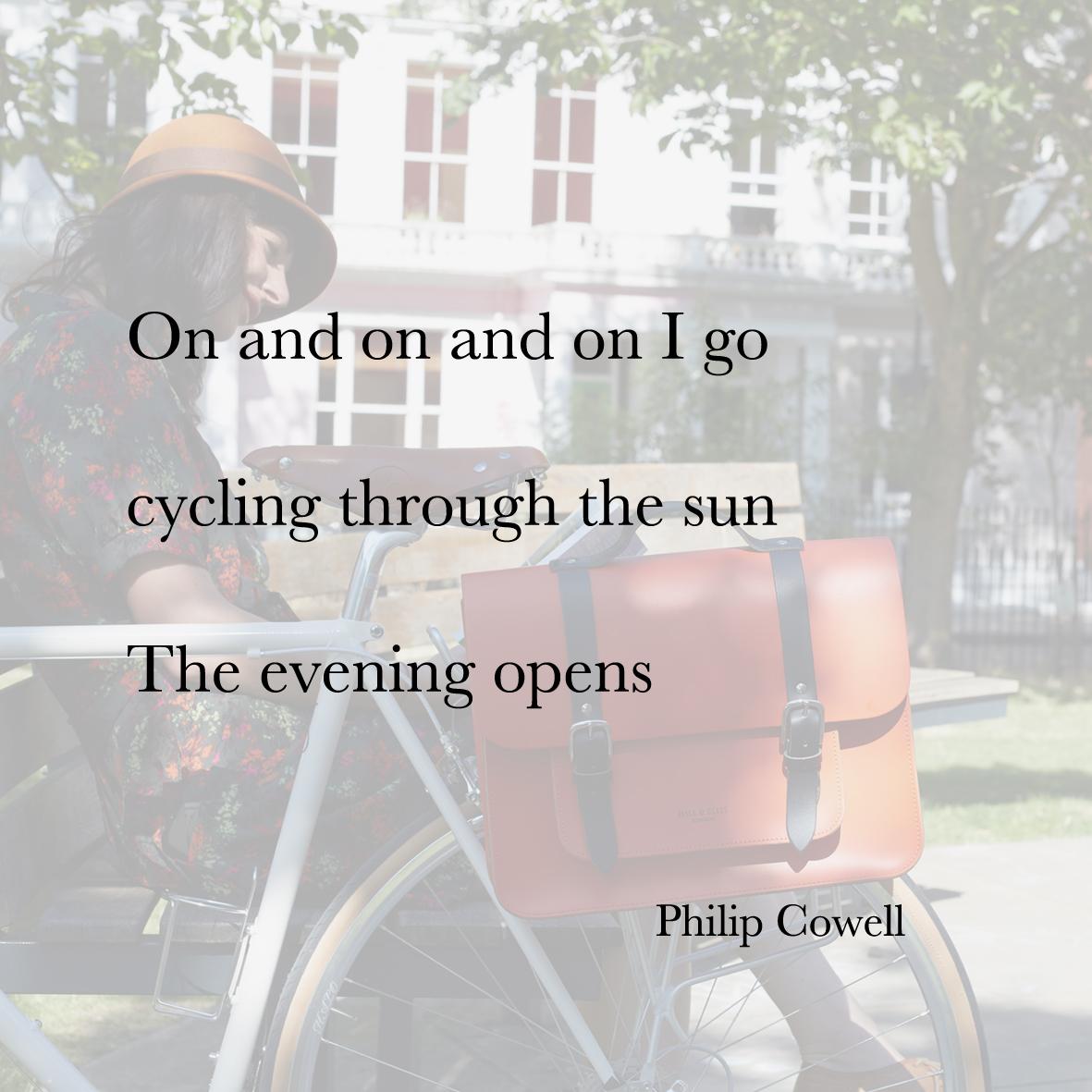 Baiku phil cowell bike bag
