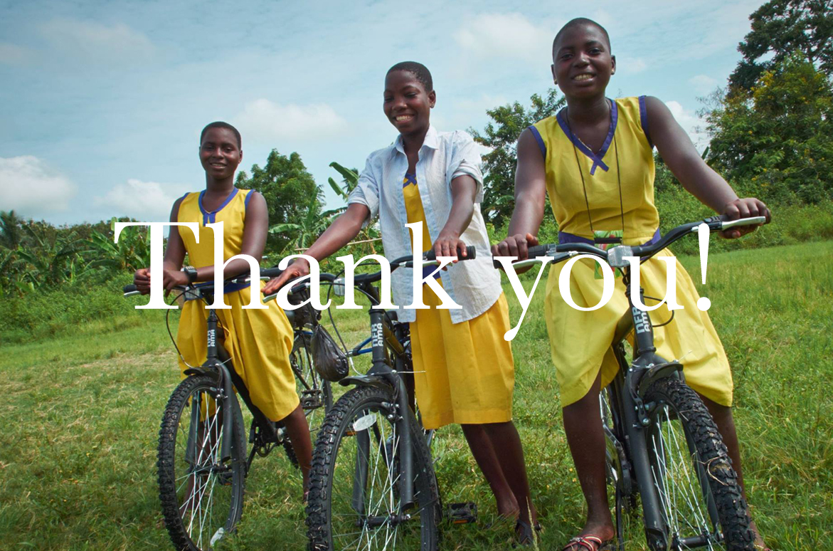 Re~cycle charity thank you