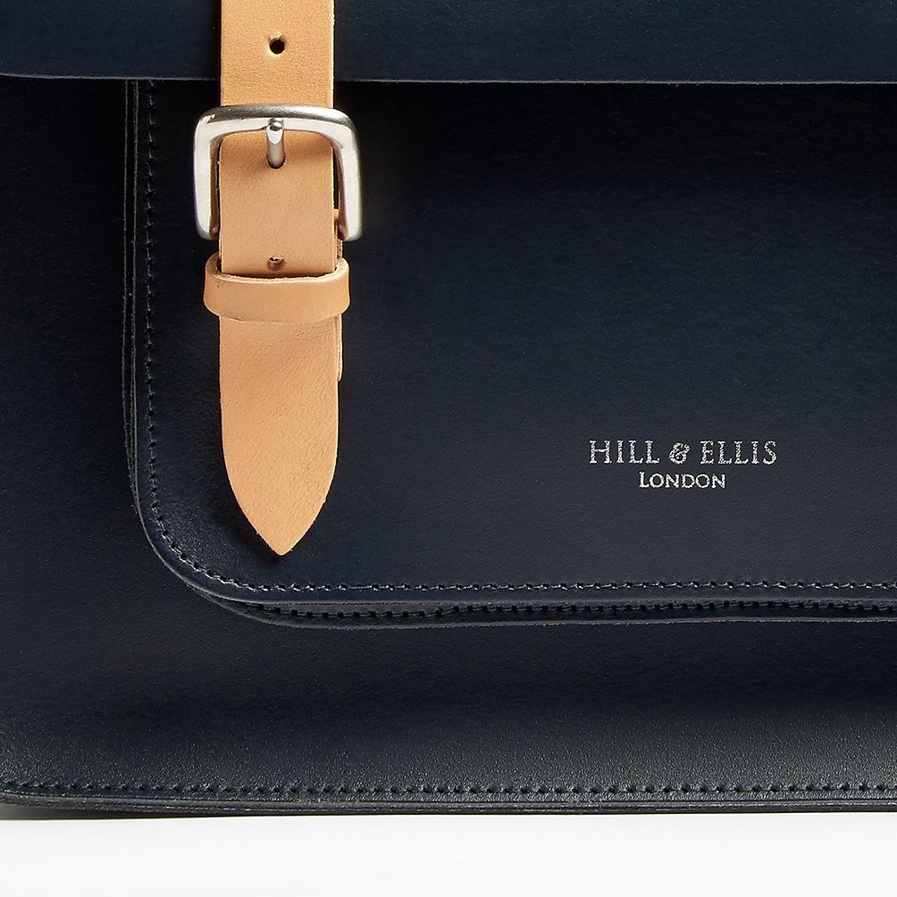 Oxford Blue satchel