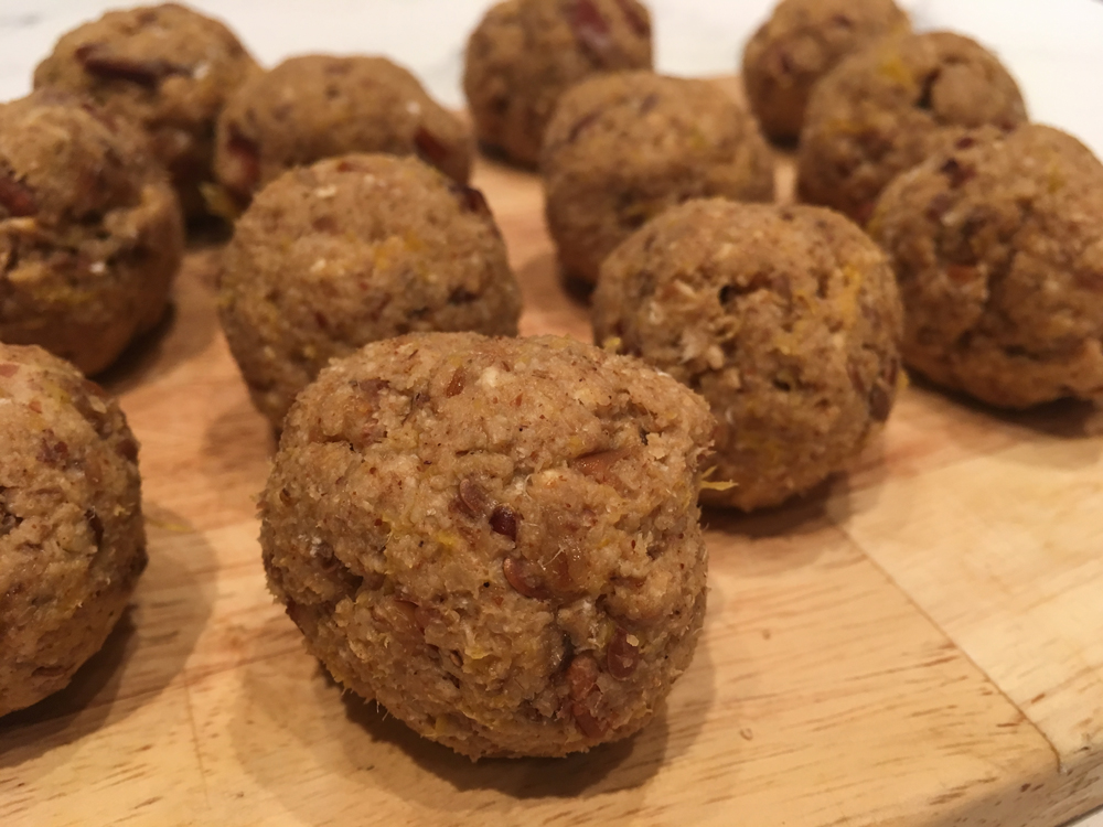 Cycling protein balls