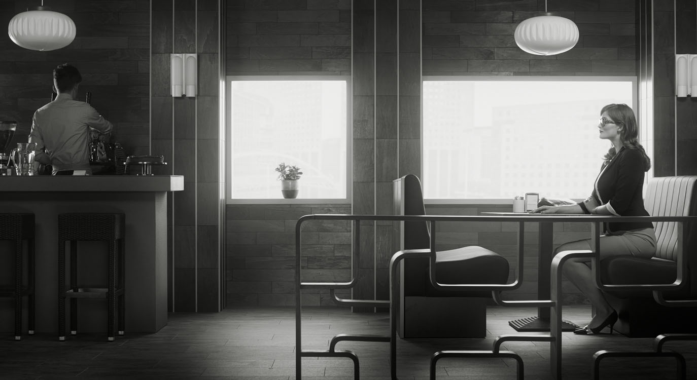 Erwin Olaf, La Defense 1, 2015,Paris - Courtesy the artist and Rabouan Moussion Gallery Paris
